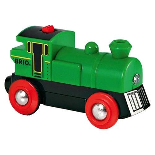 בריו קטר קלאסי ירוק על סוללות BRIO 33595
