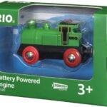 17919בריו קטר קלאסי ירוק על סוללות BRIO 33595