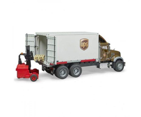 ברודר -  משאית UPS + מלגזה MACK
