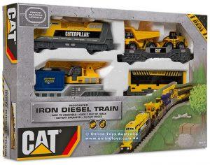 רכבת קאטרפילר ממונעת - CAT 55450