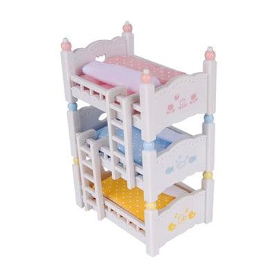 משפחת סילבניאן - מיטת ילדים שלוש קומות