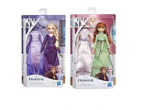 פרוזן 2 - בובה של אלזה / אנה לבחירה + שמלת ערב ונעליים