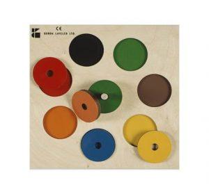 פאזל עץ - הכרת הצבע 7 צבעים דורון לילד