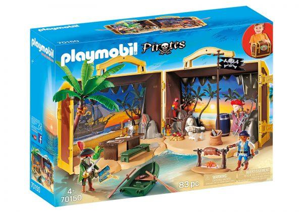 אי הפיראטים מארז נשיאה - פליימוביל 70150