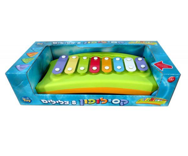 קסילופון צבעוני לילדים - 8 צלילים