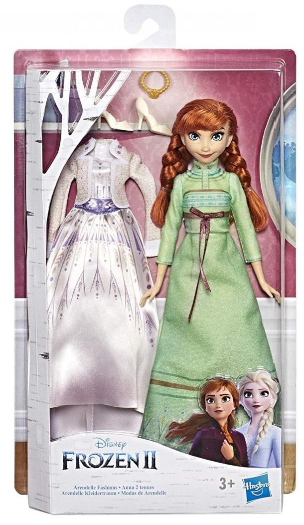 19495פרוזן 2 – בובה של אנה + שמלת ערב ונעליים