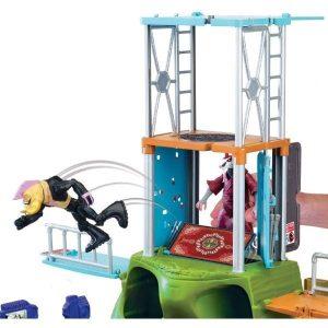 צבי הנינג'ה - לאונרדו ענק נפתח למגדל שחקים