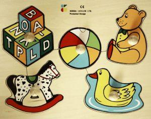 פאזל עץ - 5 צעצועים דורון לילד