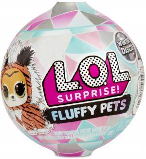 LOL Surprise - כדור LOL Fluffy Pets חיות מחמד רכות