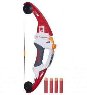 נרף קשת הברק יורה חיצים NERF N-Strike Elite Mega Lightning Bow A6276
