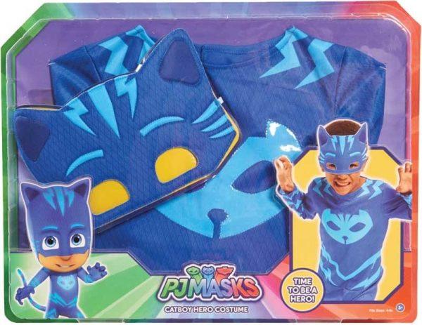 תחפושת ילד חתול/גקו/ינשפונת - כוח פי ג'יי PJ MASKS