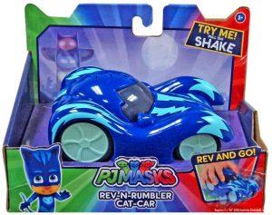 רכב האץ וסע עם קולות - ילד חתול - כוח פי ג'יי PJ MASKS - חדש!