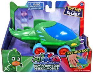 רכב האץ וסע עם קולות - גקו - כוח פי ג'יי PJ MASKS - חדש!