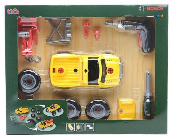 רכב שטח צהוב להרכבה בוש