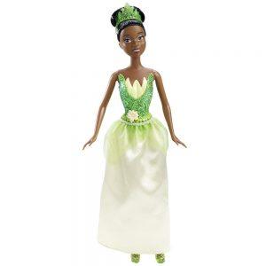 טיאנה הנסיכה של דיסני בשמלה נוצצת וכתר