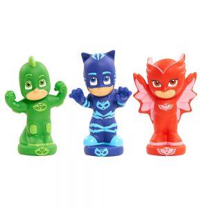 כוח פי ג'יי - שלוש דמויות מתיזות מים PJ MASKS