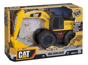 באגר קאטרפילר CAT Big Builder Excavator