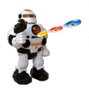 רובוט שלט יורה דיסקיות