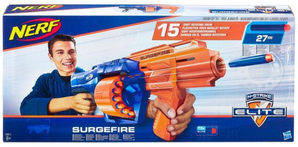 נרף סרג'פייר NERF SURGFIRE - חדש!!