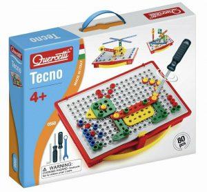 קווארצ'טי צעצוע טכנו לבניית מבנים צבעוניים בתלת מימד - 80 חלקים - דגם 0560