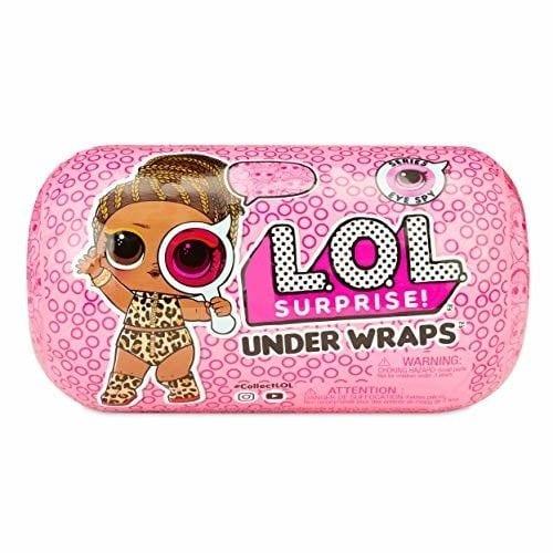 קפסולת ההפתעות המיסתורית LOL Surprise Under Wraps עם כתב הסתרים - סדרה 4 - חדש!!