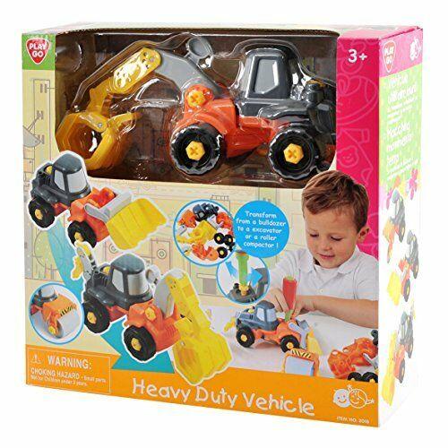 המכונאי הצעיר - ערכת רכבי עבודה להרכבה - Playgo