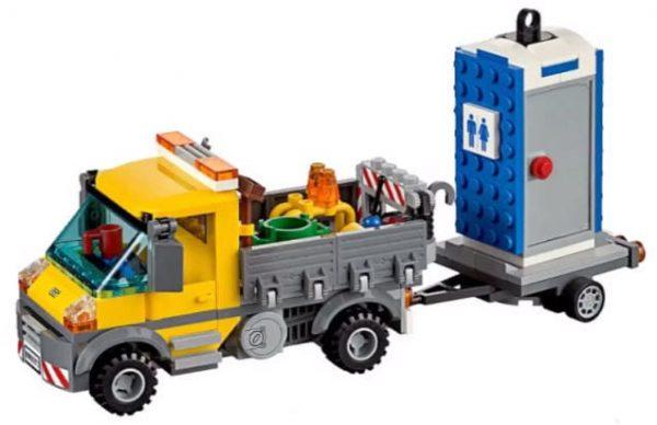 לגו סיטי - משאית שירות - 60073