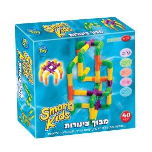 מבוך צינורות צבעוני לפעוטות - SMART KIDS