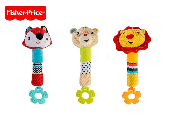 18443Fisher Price – פישר פרייס – מקל רעשן