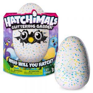 האצ'ימלס - Hatchimals ביצה נוצצת סגול כחול