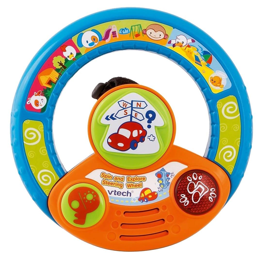 8556גלגל נהיגה לעגלה – הגה שעשועים לתינוק