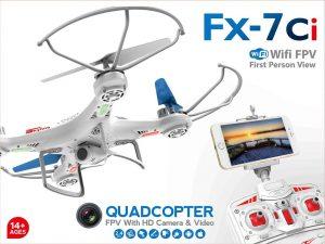 רחפן עם מצלמה FX-7Ci  WiFi