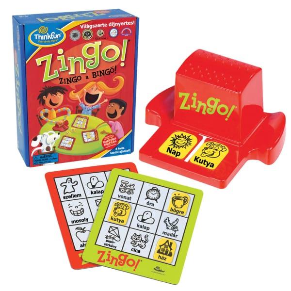זינגו - משחק בינגו צבעוני ללימוד הקריאה