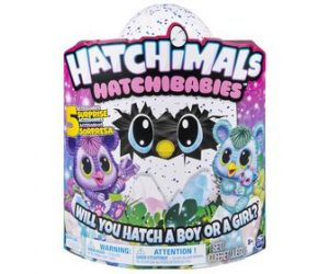האצ'ימלס - Hatchimals Hatchibabies Cheetree ביצת האצ'ימלס בייבי צ'יטרי- חדש!