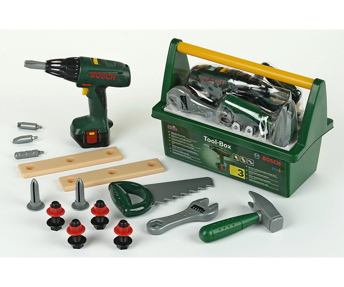 21124ארגז כלי עבודה עם כלים – בוש