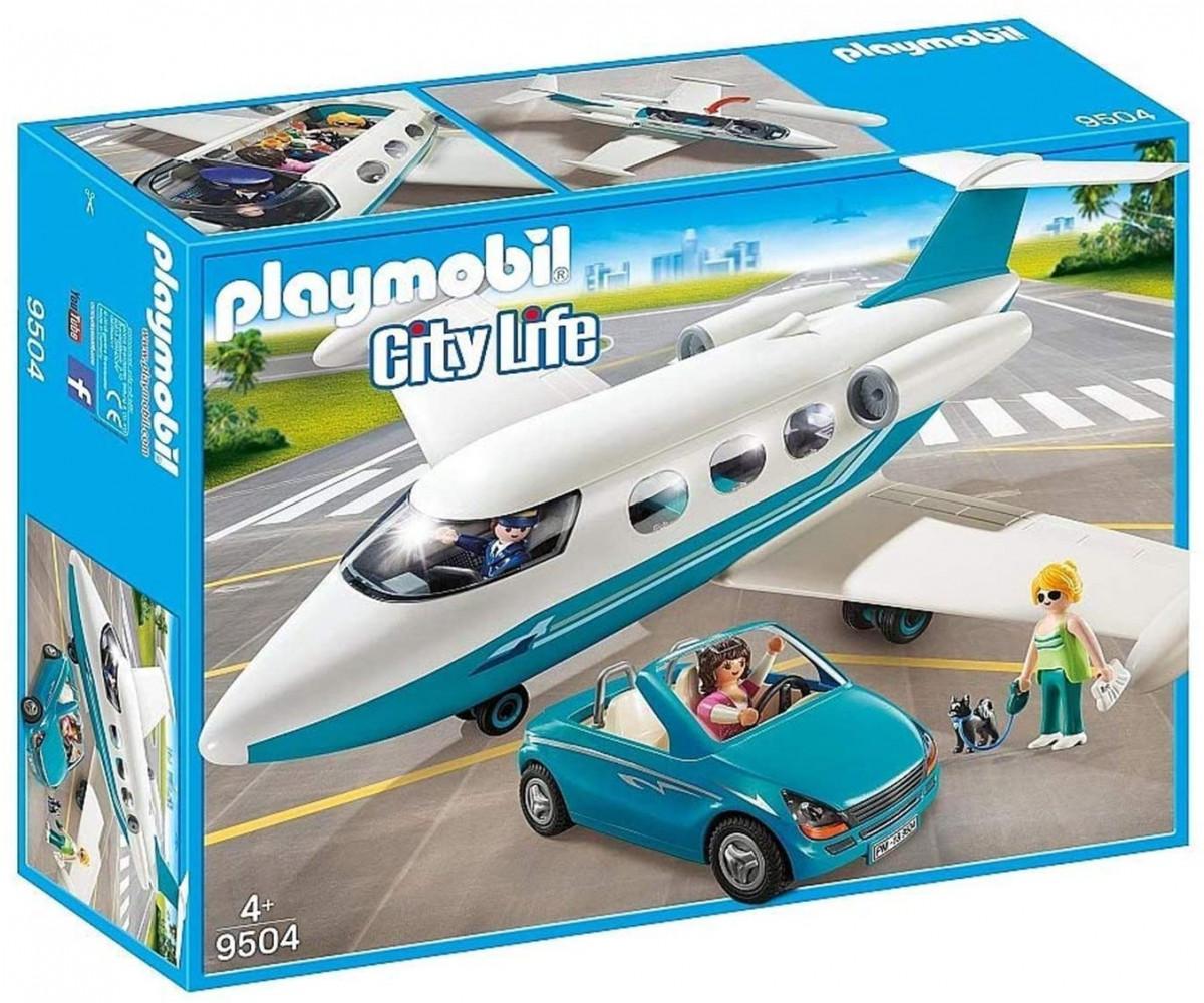 21739מטוס סילון פרטי ורכב – פליימוביל 9504 Playmobil