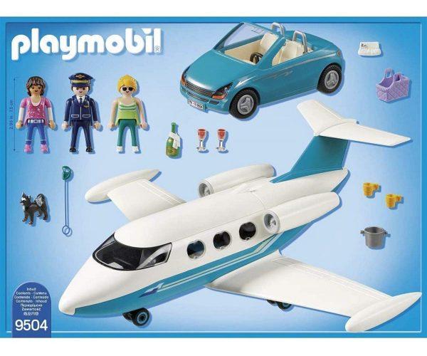 מטוס סילון פרטי ורכב - פליימוביל 9504 Playmobil