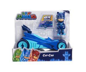 רכב עם דמות לבחירה - כוח פי ג'יי PJ MASKS