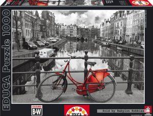 פאזל 1000 חלקים - אמסטרדם
