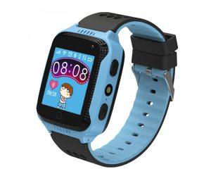 Kidi Watch - שעון GPS חכם לילדים בצבע כחול