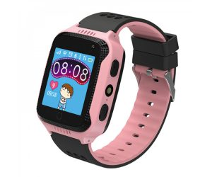 Kidi Watch - שעון GPS חכם לילדים בצבע ורוד