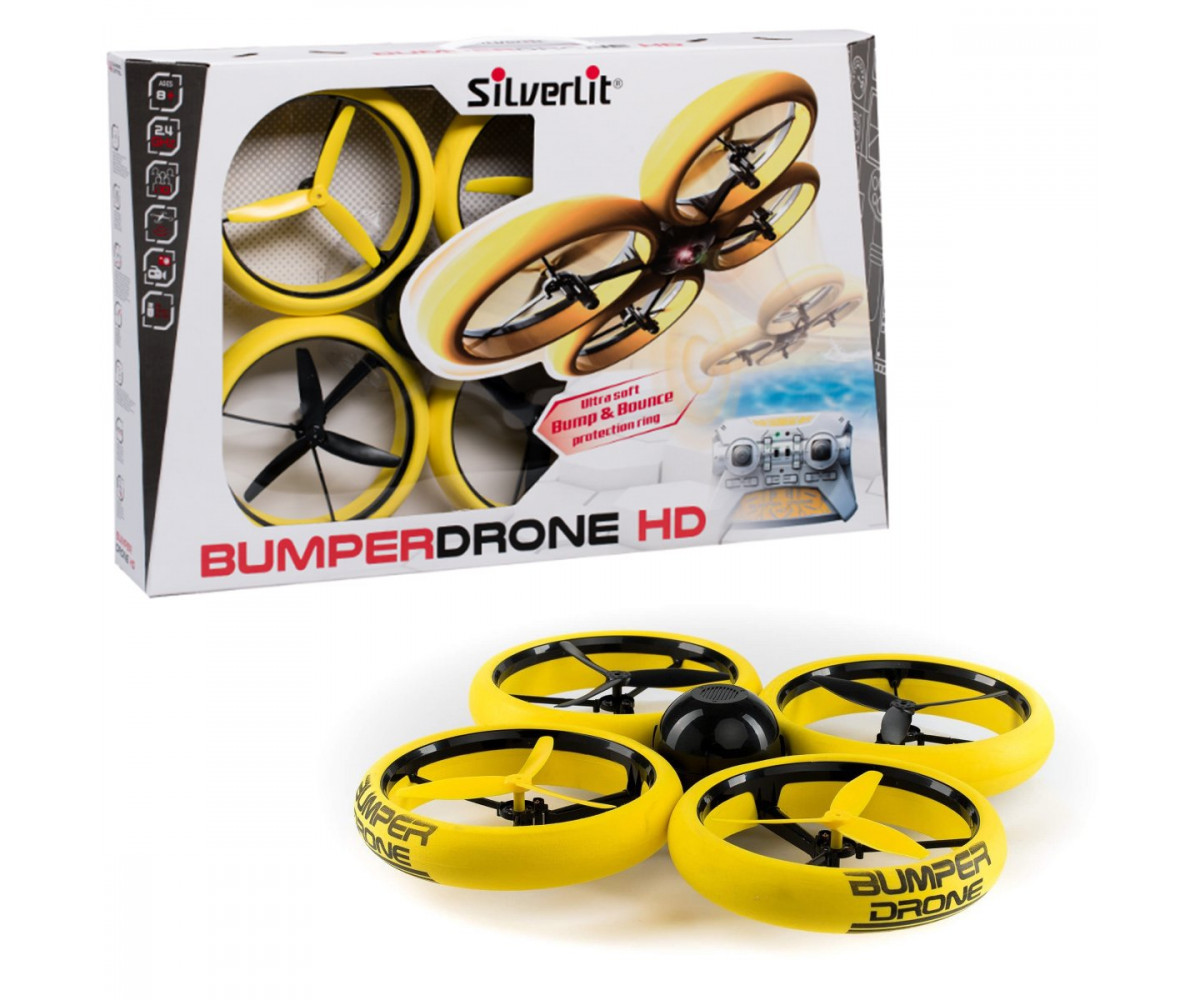 22049SILVERLIT BUMPER DRONE – רחפן מתנגש עם מצלמת HD