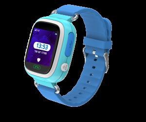 Kidi Watch Color - שעון בטיחות חכם לילדים עם GPS בצבע כחול