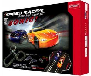 מסלול מכוניות באורך 6.32 מ'- SONIC SPEED RACER
