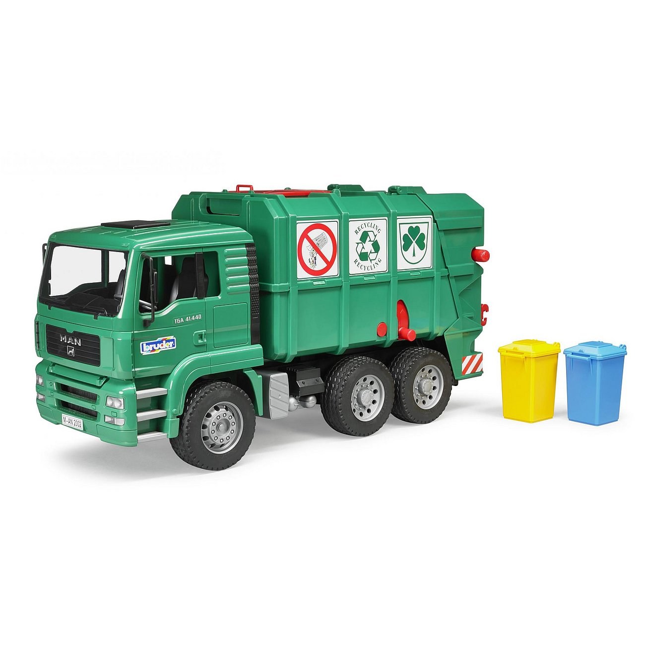 22274ברודר – משאית זבל Man ירוק