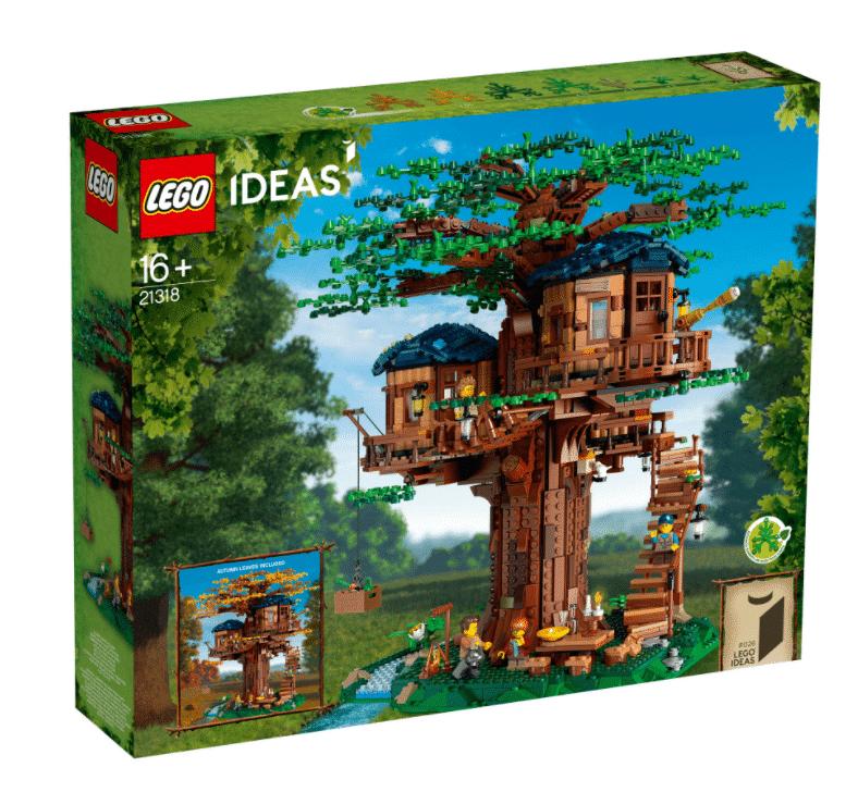 23960לגו מיינקראפט – בית העץ 21318