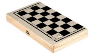 שחמט ושש בש במארז עץ