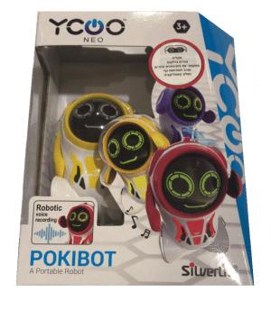 פוקיבוט רובוט מקליט קול - SILVERLIT - סילברליט