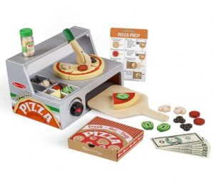 דלפק ותנור מעץ להכנת פיצה - מליסה ודאג