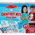 25908ערכת משחק רופא שיניים – מליסה ודאג